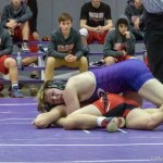 Mounties Varsity Wrestling action from Monday night
