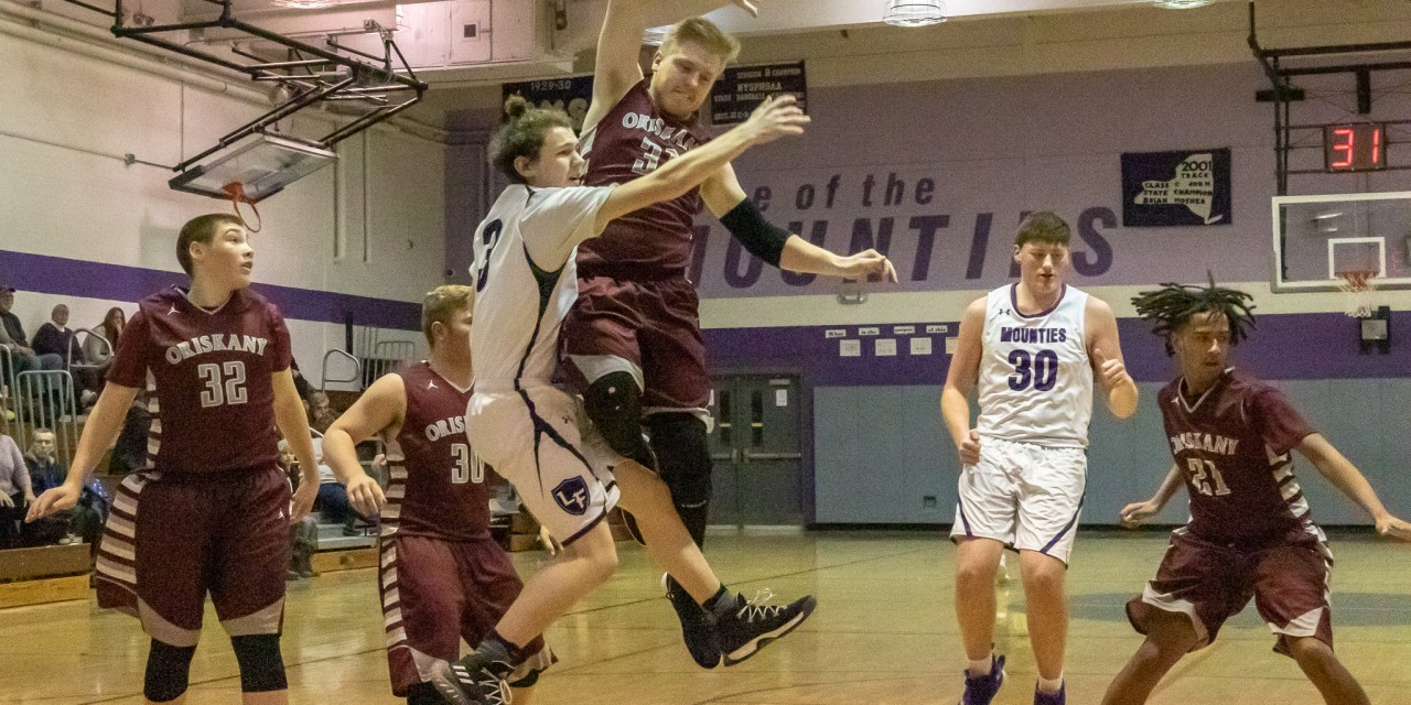 Mounties blocked in 66-46 loss to Redskins