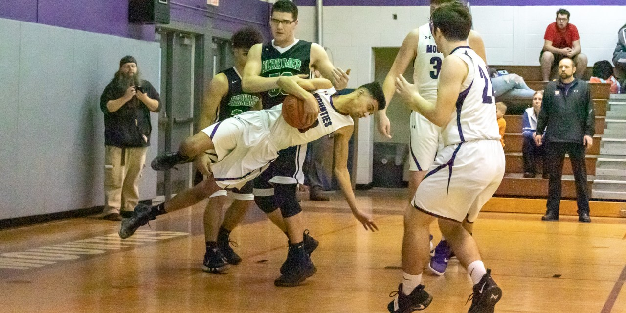 Mounties get sideways in 42-74 loss to Magicians