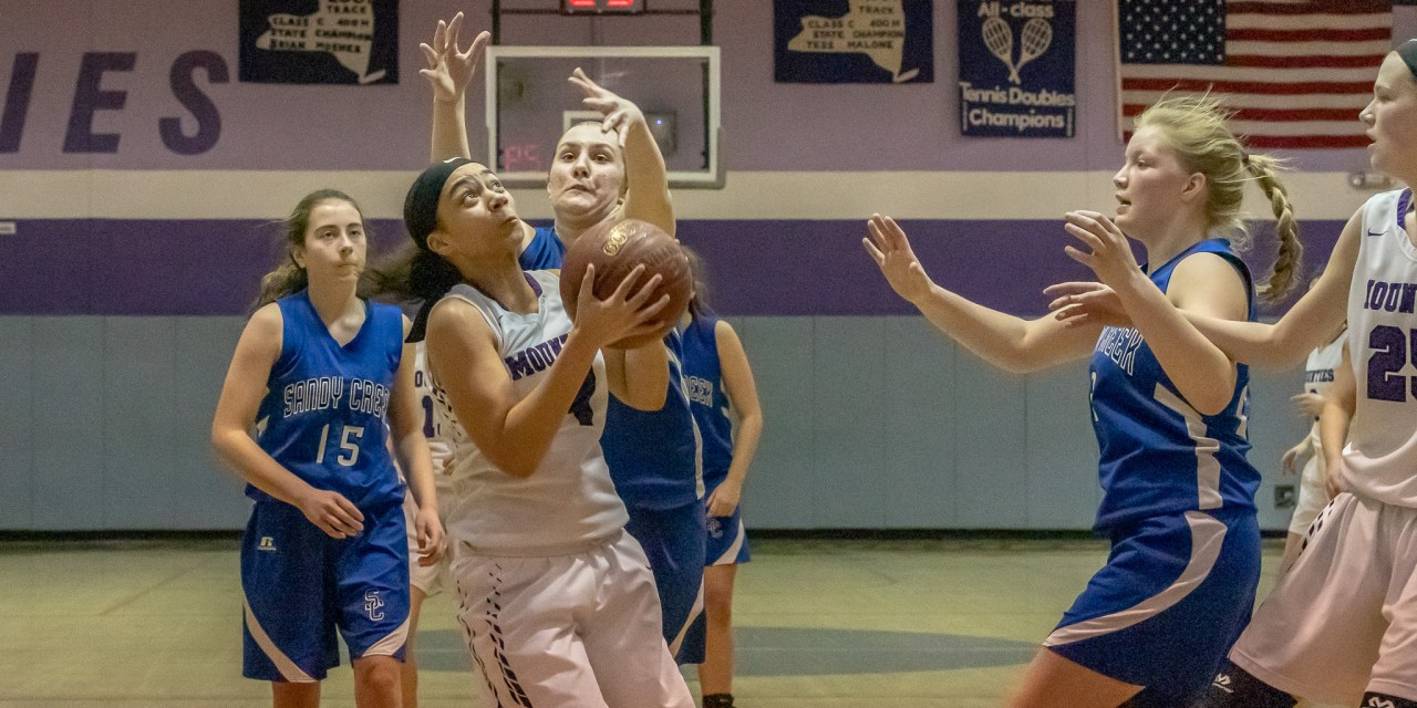 Mounties fearless in 71-27 sectional win