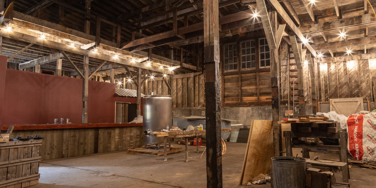 Microbrewery dream will be a reality this spring or early summer