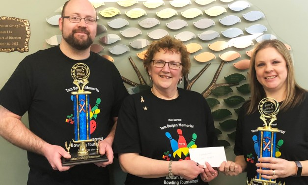 Tom Bergen Memorial Bowling Tournament Raises $3,000 to Support Autism Programs at Arc Herkimer