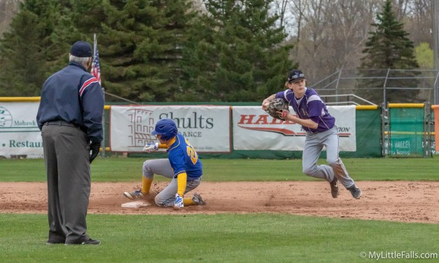 Mounties notch another win in baseball