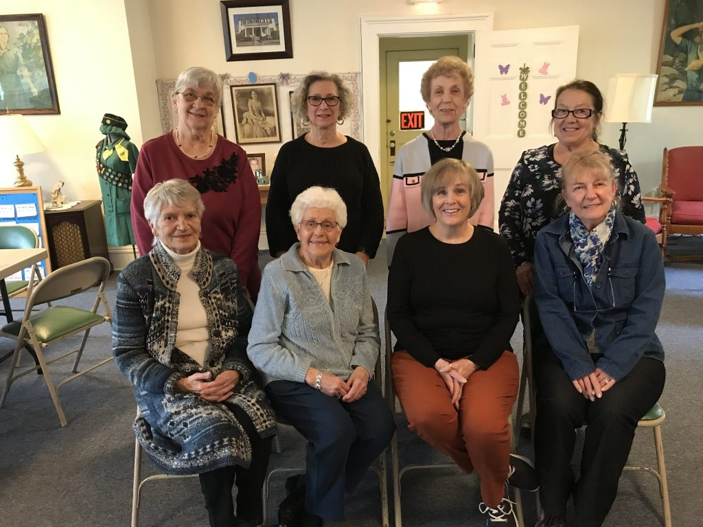 Photo submitted - Seated left to right: Dora Czernecki, Charlotte Phillips, Doris Cuda, Linda Wagner. Back row: Eileen Zaklukiewicz, Mena Cerone, Barbara Cinquanta, Barbara Smith. Absent: Pat Rockwell and Lucille Shepardson.