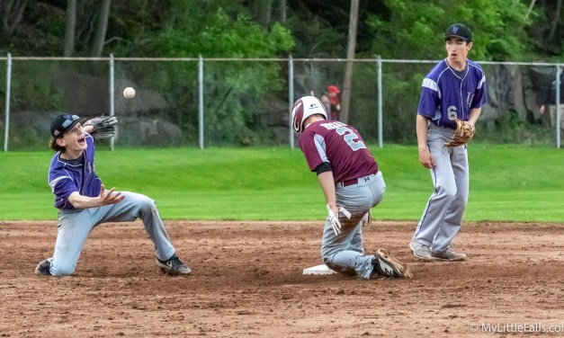 Mounties drop two in Monday's contests