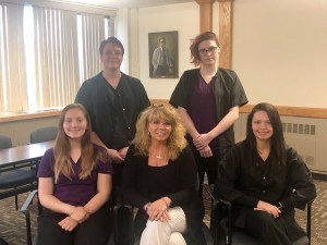 Photo Submitted - Front left to right: Rebecca Simonds, MaryBeth Napolitano, Kaitlyn Lewis. Back left to right: Deanna Marie Guido, Sarah DeVuyst.