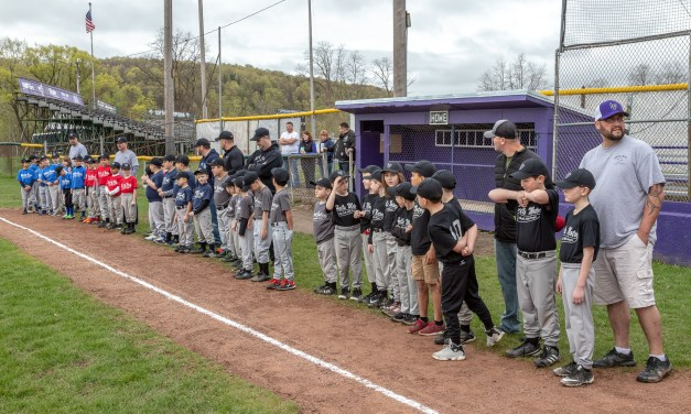 Little League holds opening ceremony