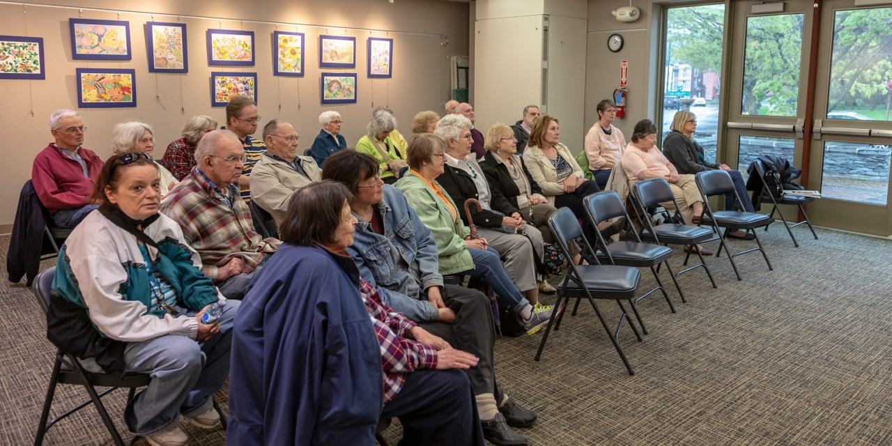 Piano duet thrills listeners at the Library