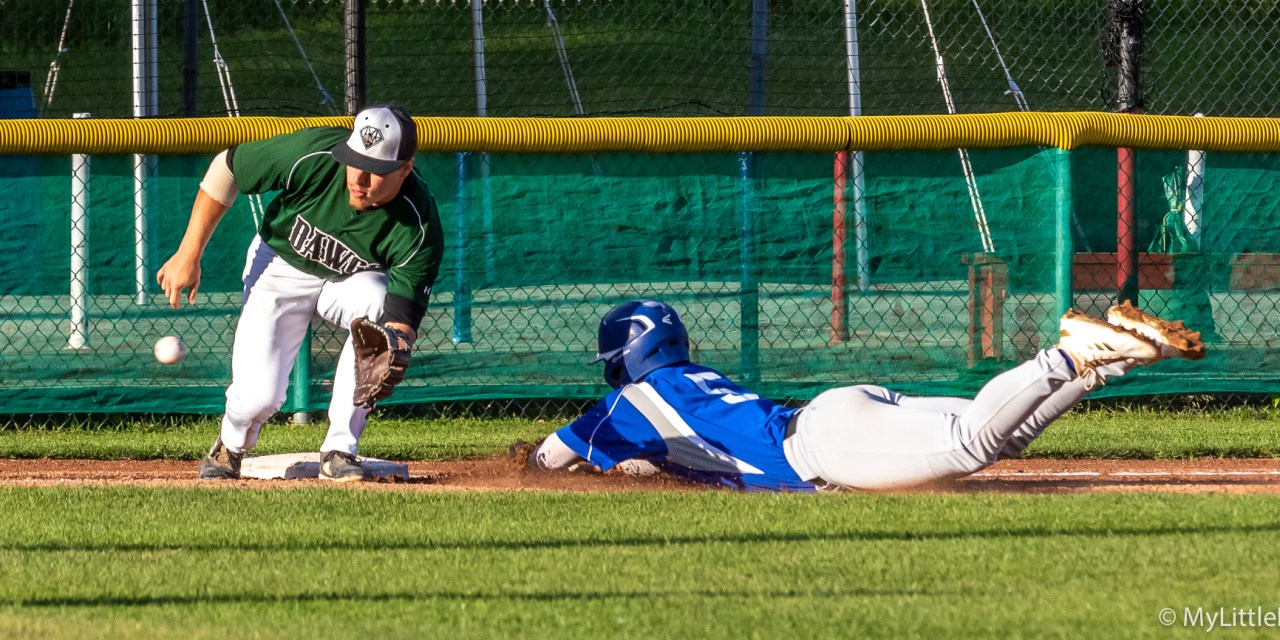 Watertown Uses Four-Run Eighth to End Diamond Dawgs' 3-Game Win Streak