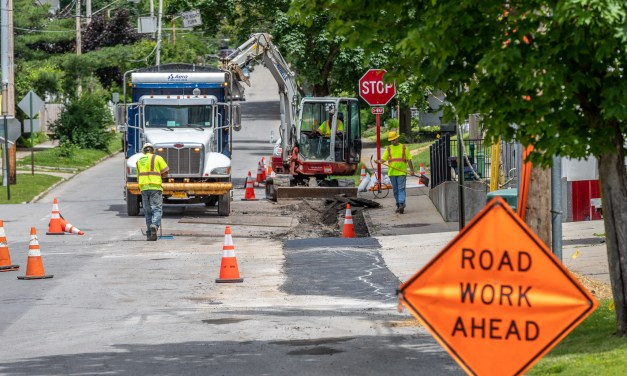 Road Work Report for the Week Beginning September 23, 2019