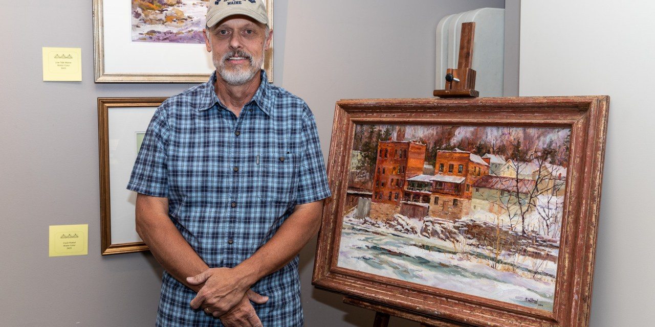 Willman has opening reception at the Library