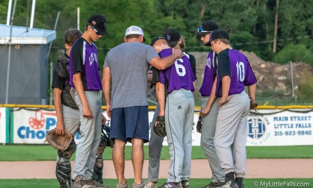 Little Falls Babe Ruth team suffers first loss