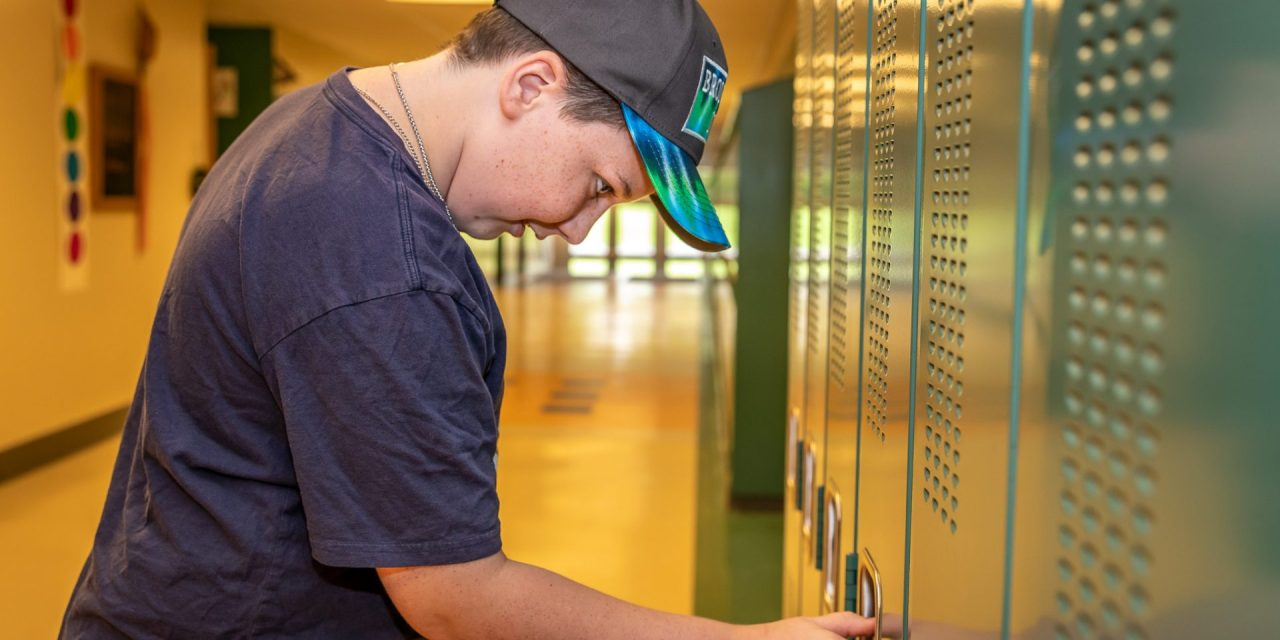 Sixth-grade orientation helps reduce first-day stress for students