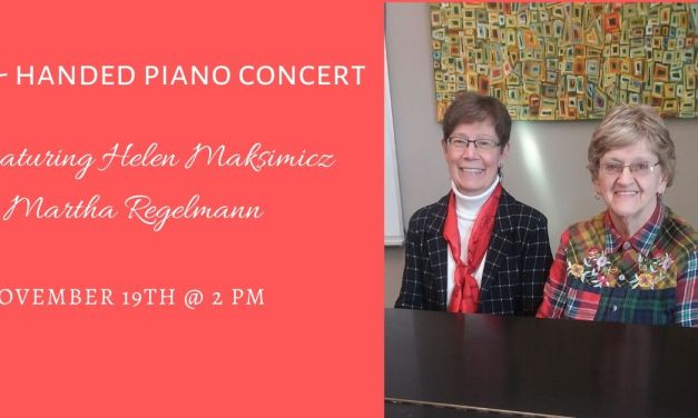 Duo to perform four-handed piano concert at the library