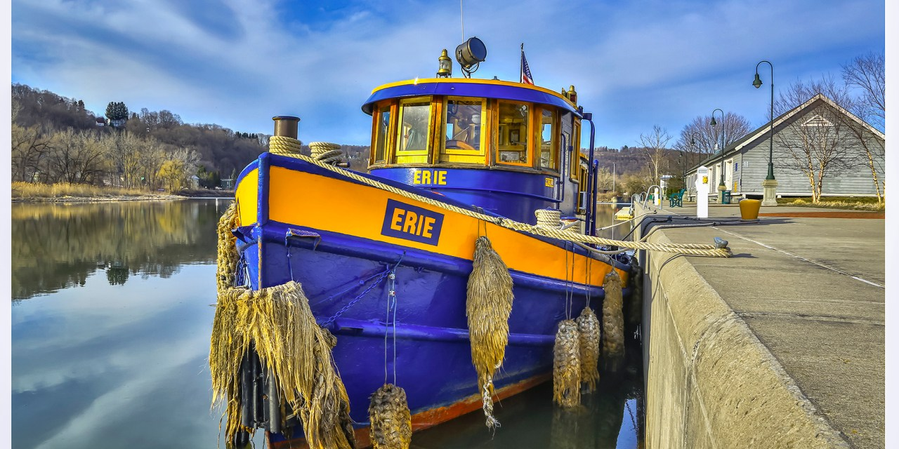 Little Falls Public Library is hosting exhibit of Erie Canal images