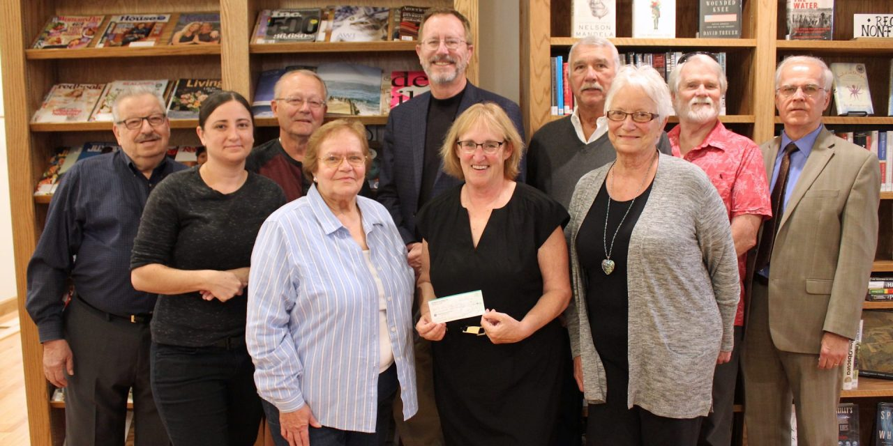 Van Meter's show support for organizations in new location