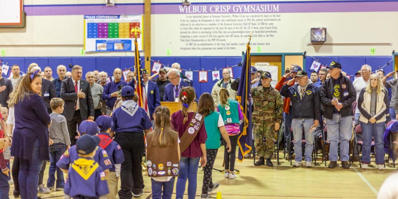 Benton Hall Academy hosts annual Veterans Day Program
