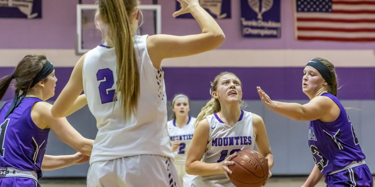 Mounties upend Indians in 51-37 win
