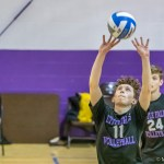 Boys varsity volleyball team drops three to Oneida