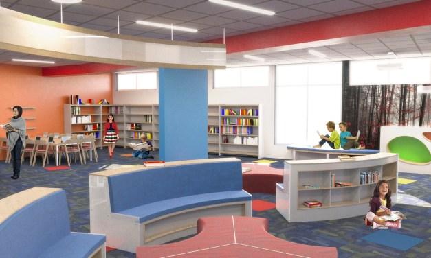 Library undergoing major renovations