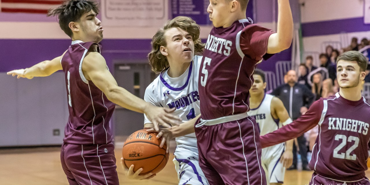 Hard-fought battle ends in Senior night loss for Mounties