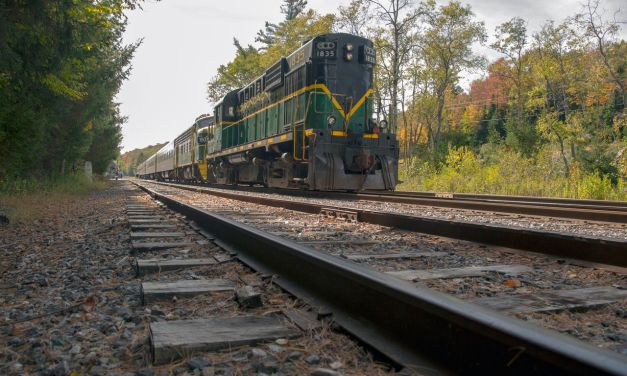 Removal of railroad tracks between Tupper Lake and Lake Placid begins