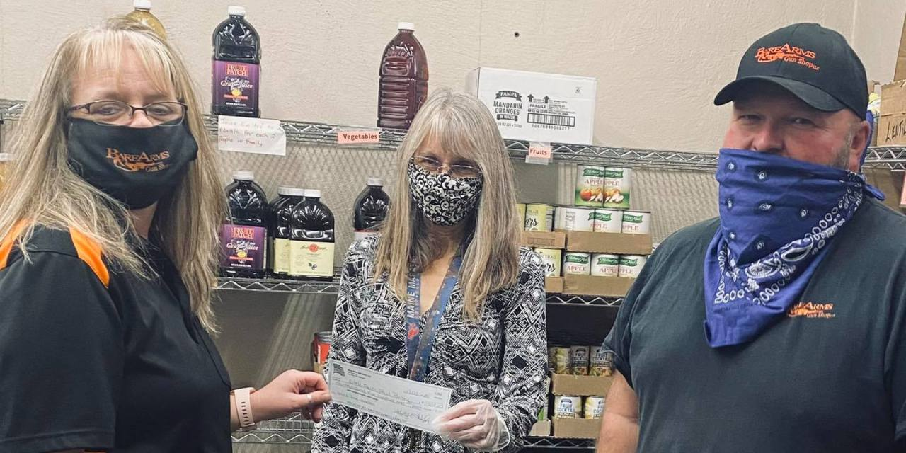 Donation made to Little Falls Food Pantry