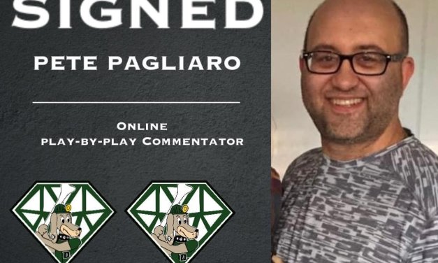 Play-by-play commentator signed by DiamondDawgs