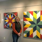 Little Falls Public Library features hand-painted 'barn art' quilts