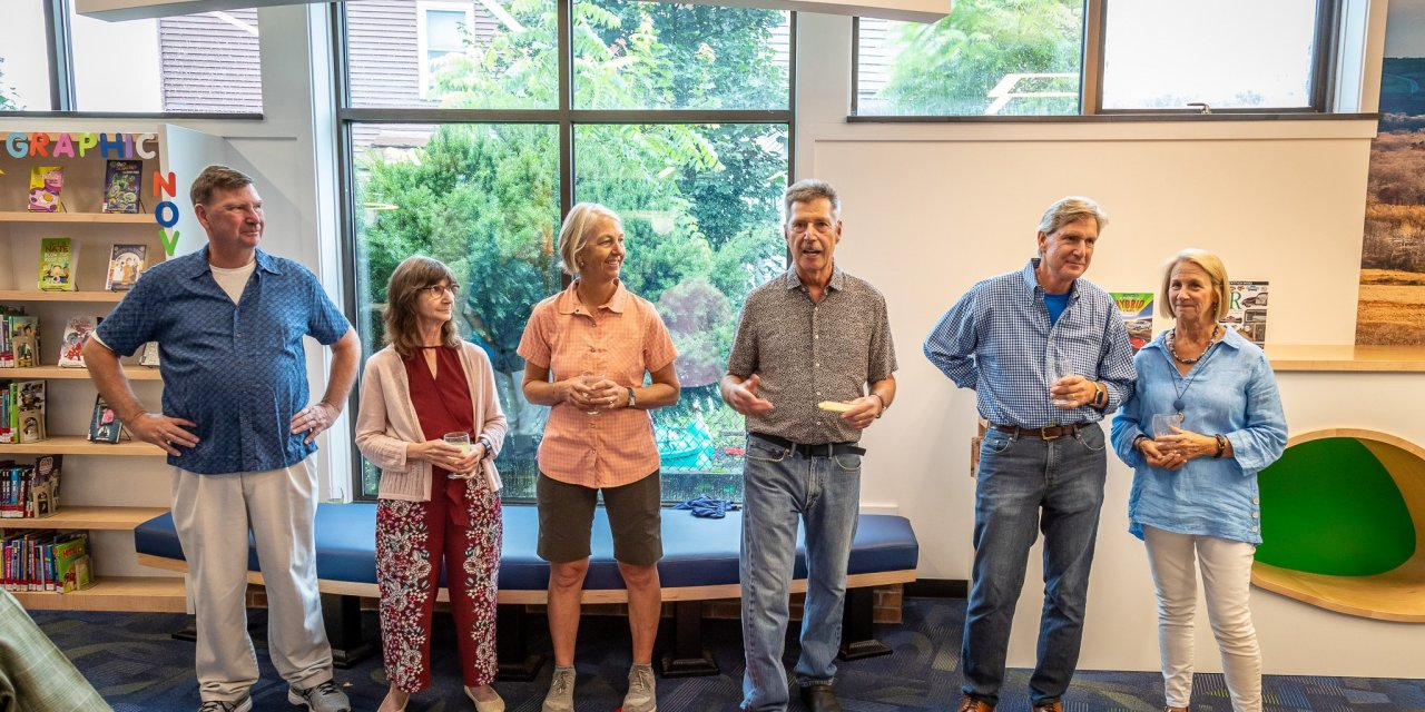 Library holds dedication ceremony