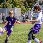 Boys varsity soccer drops home opener
