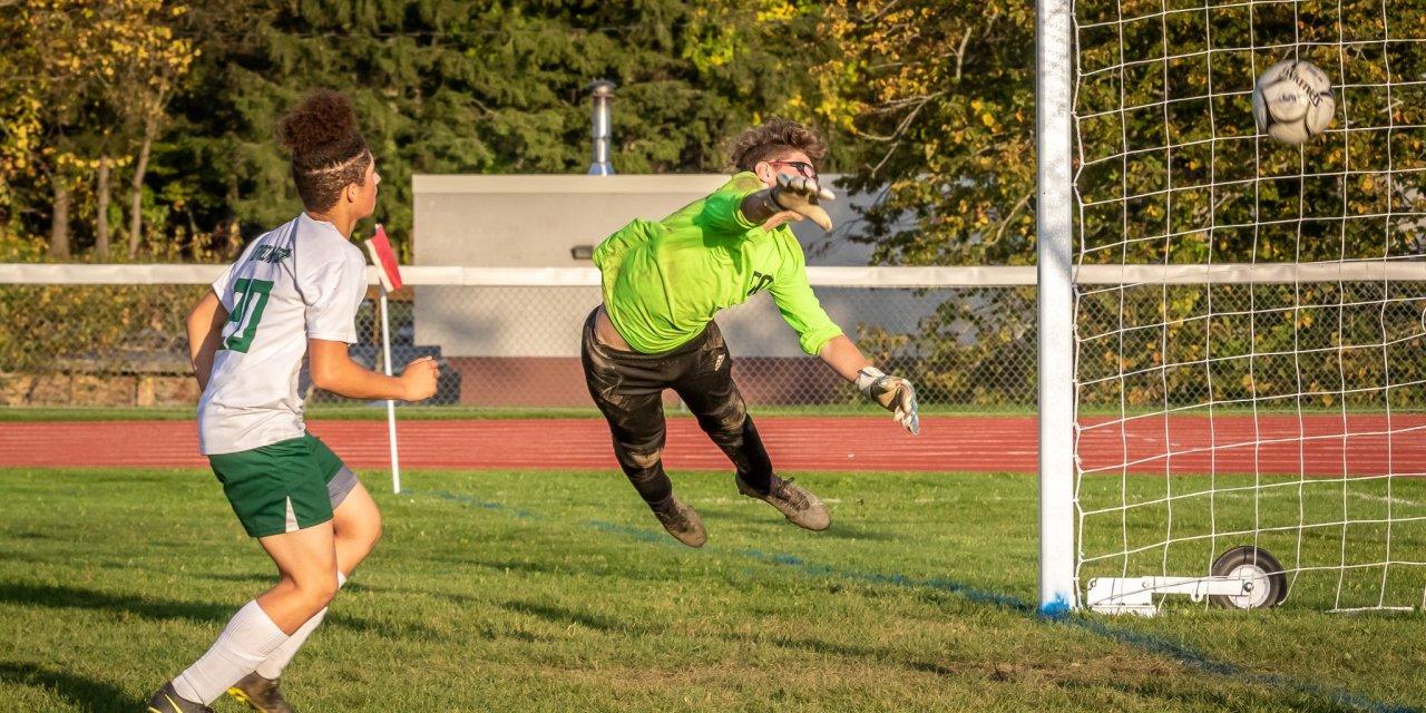 Boys varsity soccer team loses in shortened contest