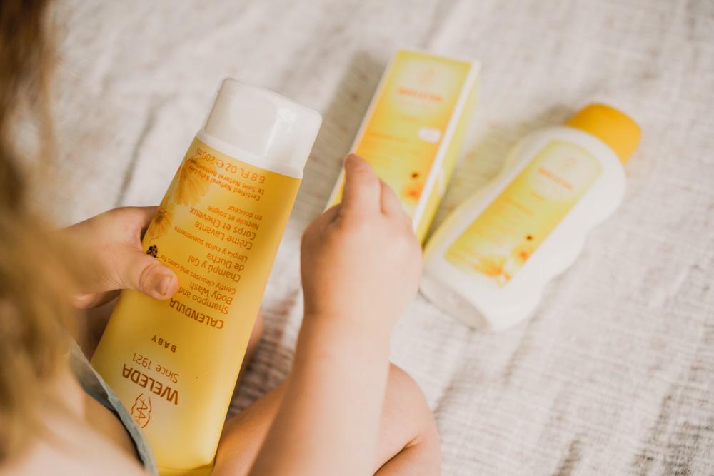 productos para bebés de Weleda