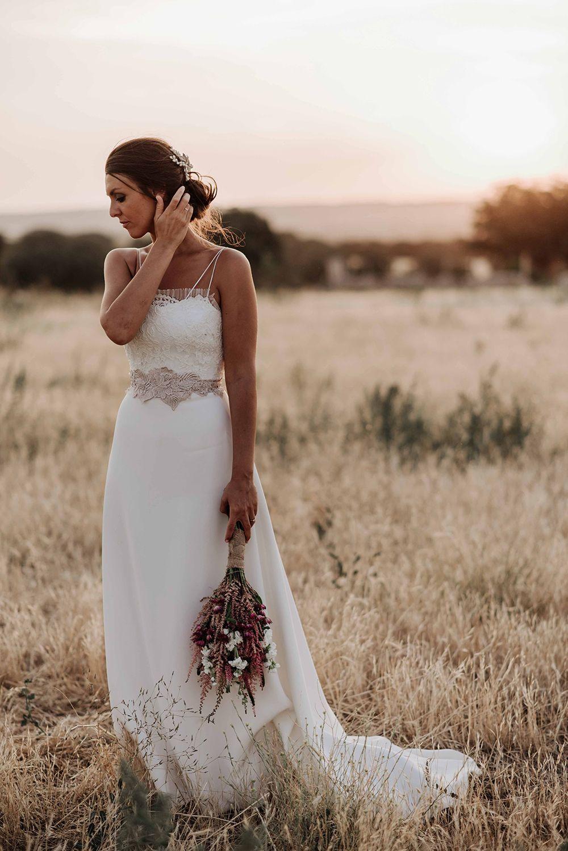 boda real boda campestre novia vestido de novia