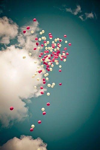 suelta de globos boda
