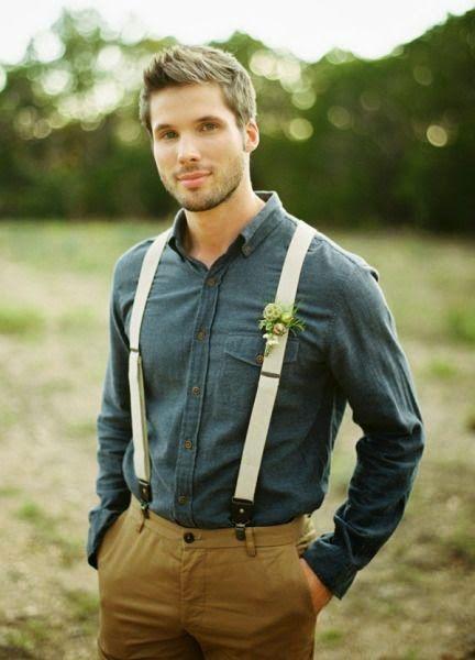 novios con camisa tejana