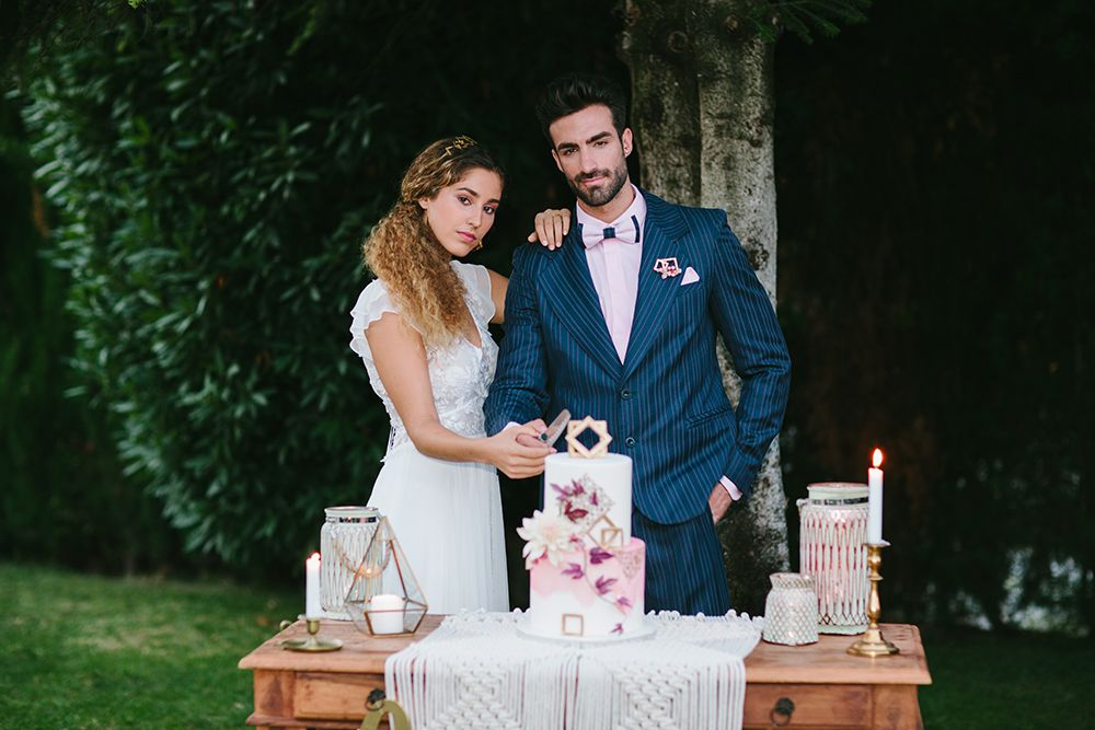 decoracion macrame boda