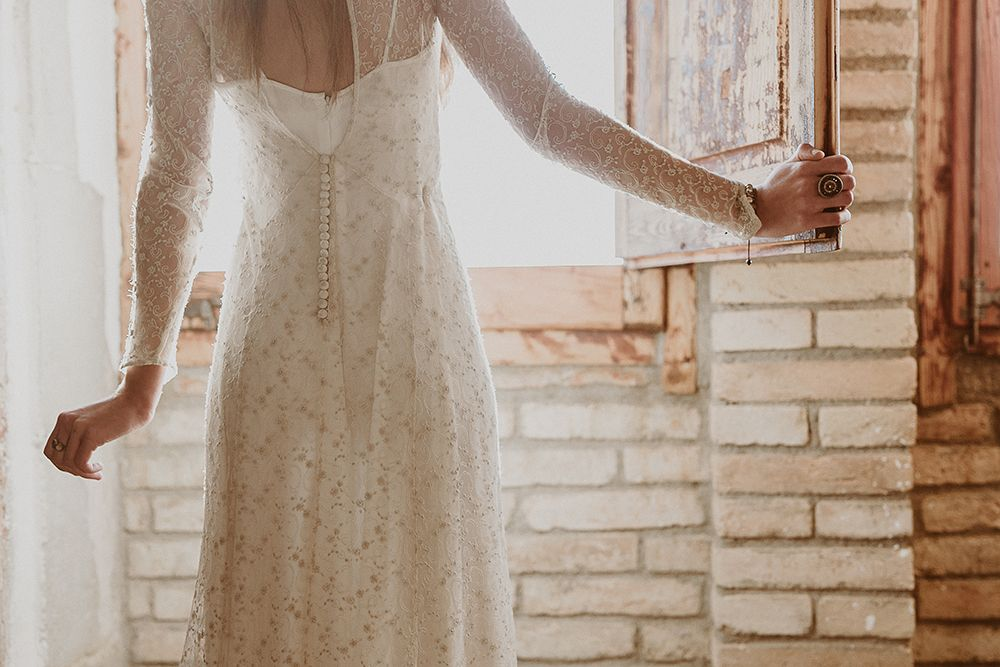 Vestido de novia l'Arca Barcelona