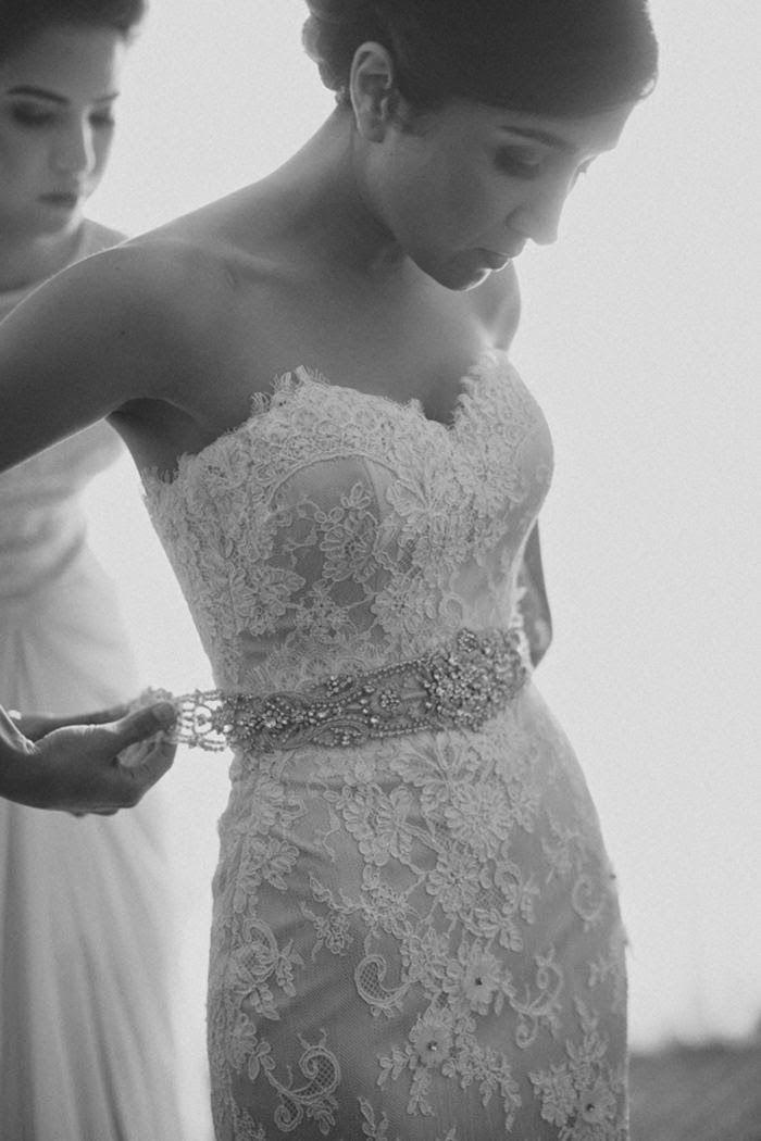cinturon novia