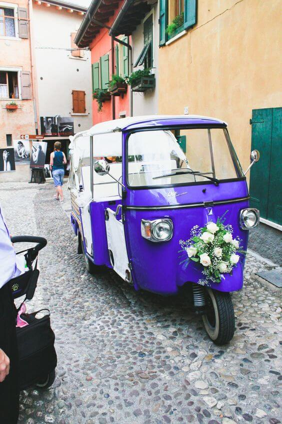 alternativas al coche de bodas