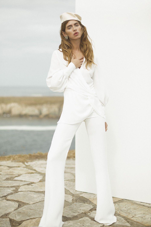 trajes de novia con pantalones Bouret
