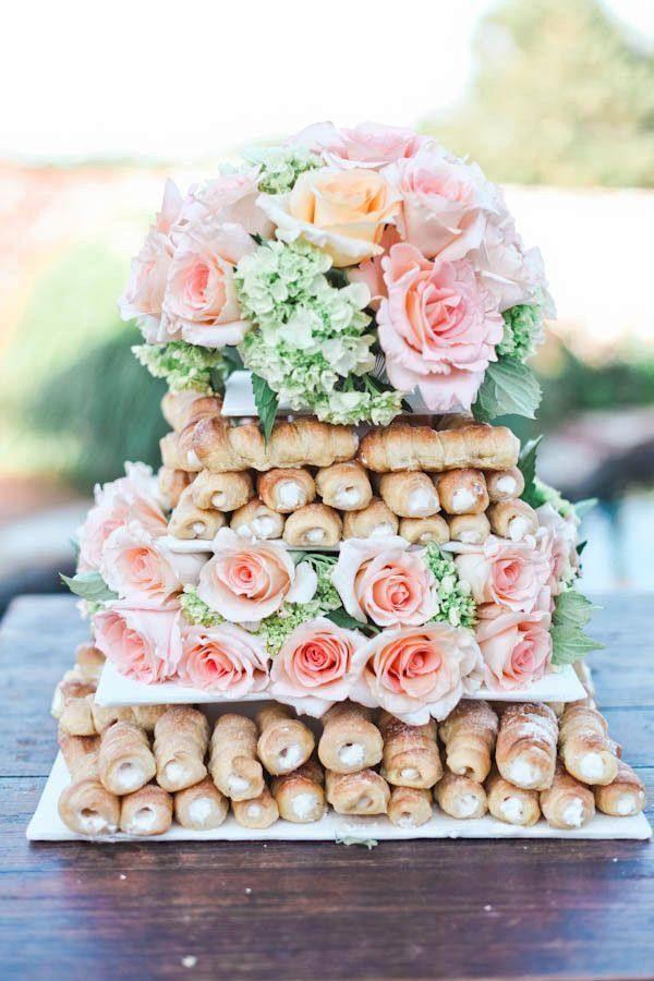 tarta cañas crema boda