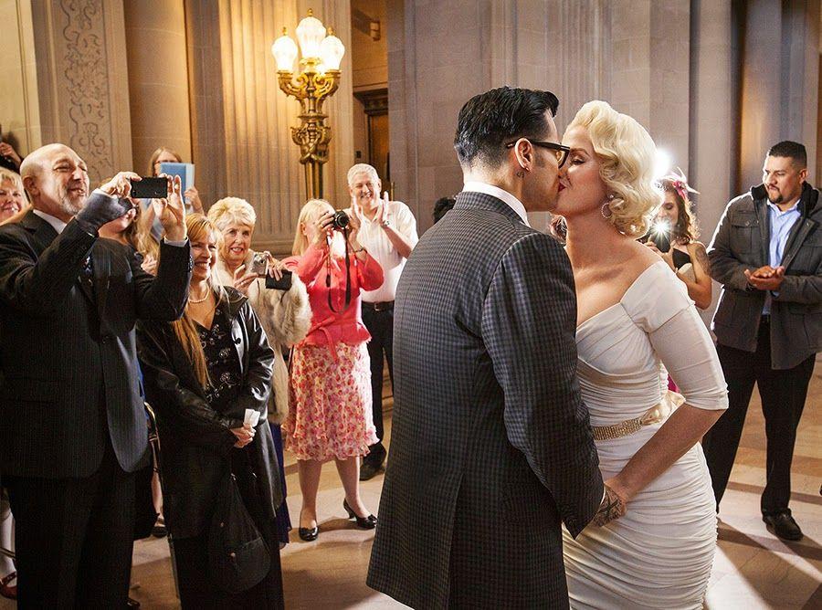 boda inspirada marilyn monroe