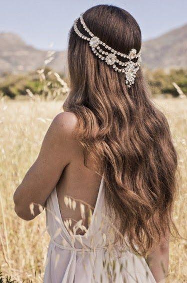 pelo suelto para novias