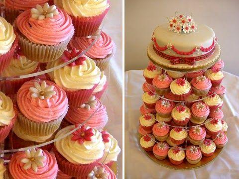 tartas de cupcakes boda