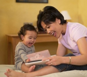 Here's how to make reading time – fun time for kids who won't sit still