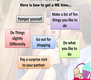 New to parenting?? Here is how to get a ME time..