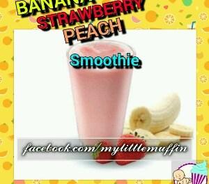 Banana Strawberry Peach smoothie- a refreshing recipe