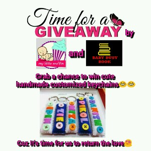 Giveaway time- it's time to say thank-you to our followers