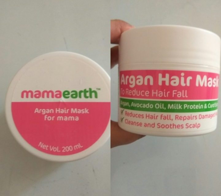 A solution for dry and frizzy hair | Mamaearth Argan Hair mask